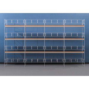 Byggnadsställning Ram 12x8 m - Stål