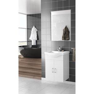 Möbelpaket Alba 55 vit med spegel