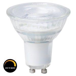 LED spot lampa 345lm GU10 dimbar