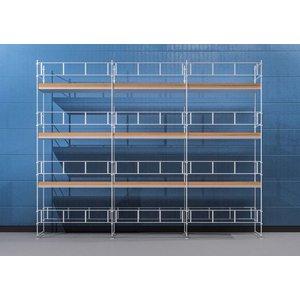 Byggnadsställning Ram 9x8 m - Stål