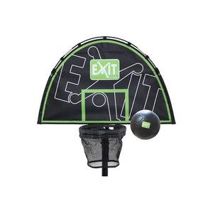 Basketkorg till studsmatta + boll (kompatibel med alla EXIT-studsmattor)