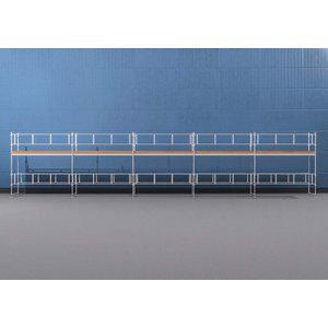 Byggnadsställning Ram 15x4 m - Stål