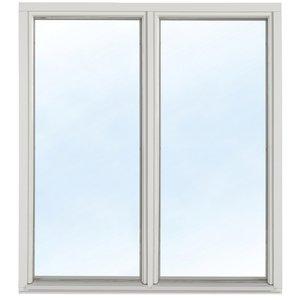 Fast fönster med bågpost - Trä - 3-glas U-värde 1